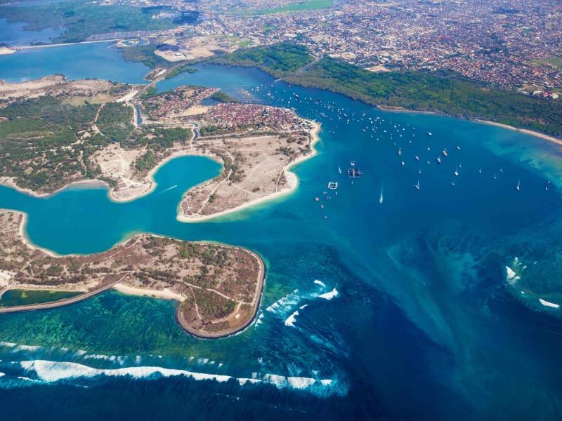 Serangan Turtle Island bali