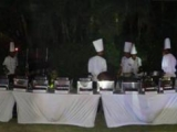 Galla dinner at villa, bali indian  restaurant, indian food restaurant in bali