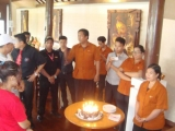 Birthday Staff April 2015 - Indian Restaurant Bali