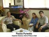 Paulus Purwoko Inspector General, Chief of Police in Bali