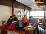 Birth Day Staff, bali indian restaurant, indian food restaurant in bali