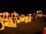 Galla dinner at villa, bali indian  restaurant, indian food restaurant in bali