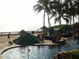 BBQ at pool, bali indian restaurant, indian food restaurant in bali