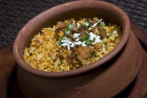 Chicken Matka Biryani
